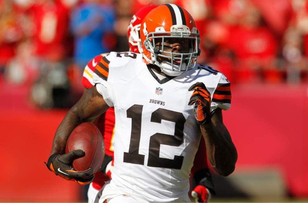 Browns WR Josh Gordon arrested _lowres