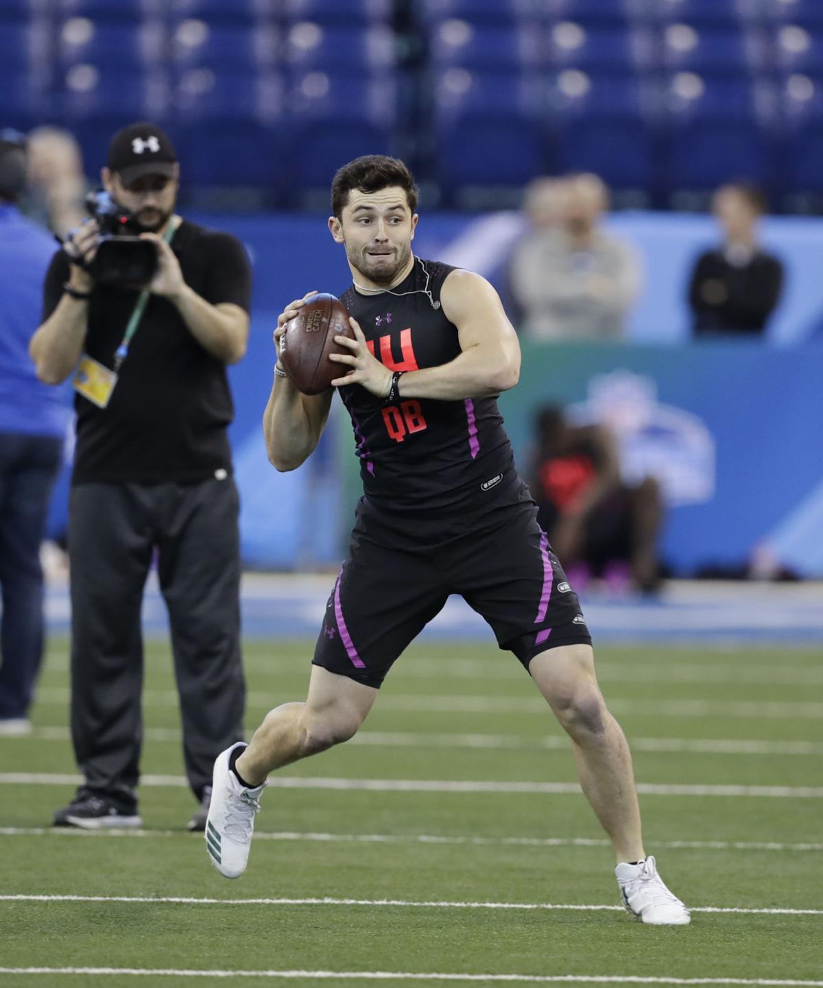Heisman Trophy Winner Baker Mayfield Saints Set Up