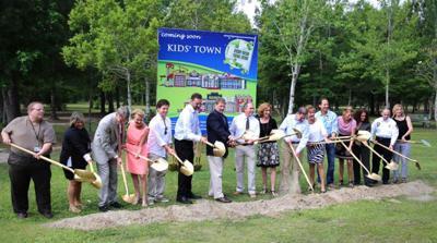 Kids Town groundbreaking celebrated _lowres