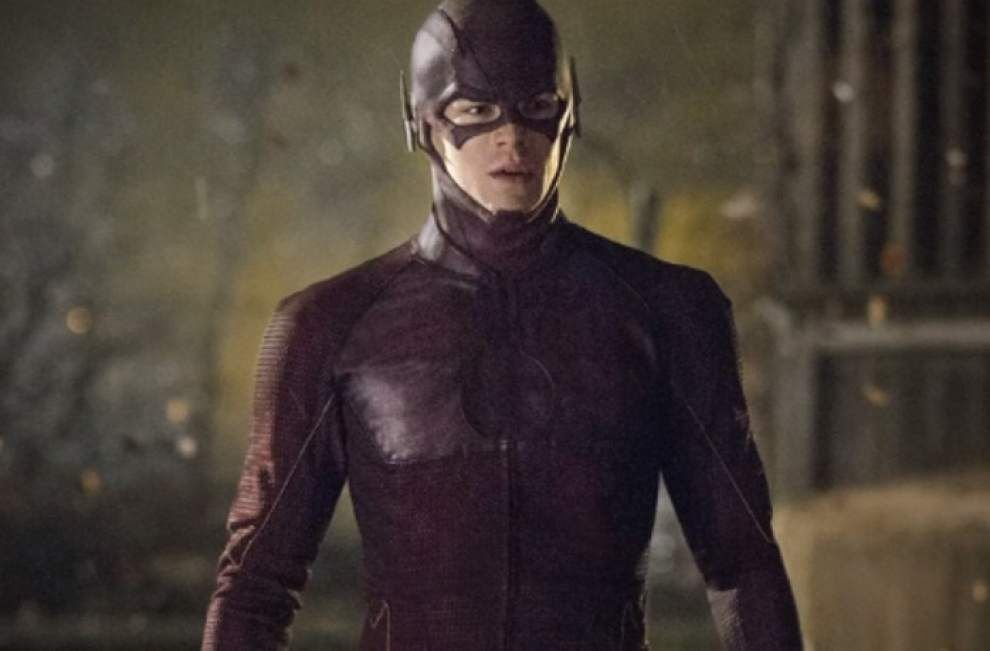 Grant Gustin is 'The Flash' on CW _lowres