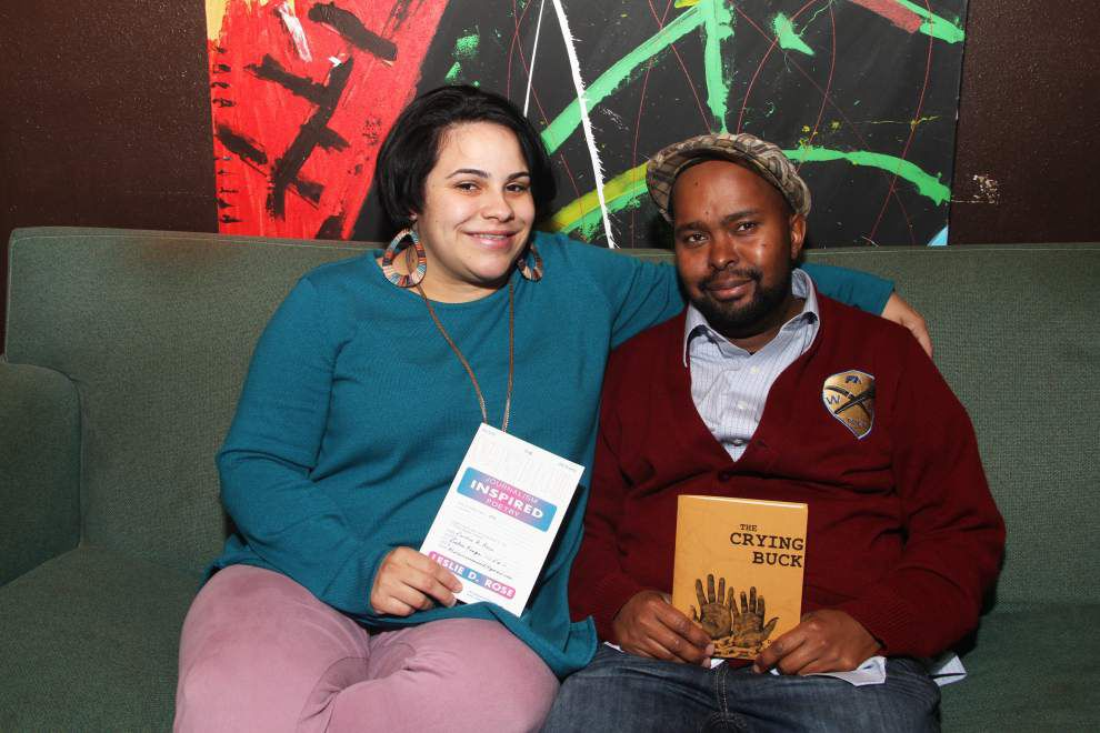 Poetic Pair   BR couple to showcase poetry _lowres