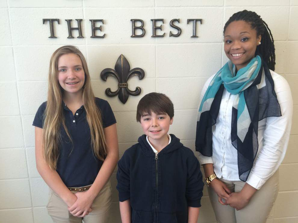 Three West Feliciana students named parish's best for year _lowres