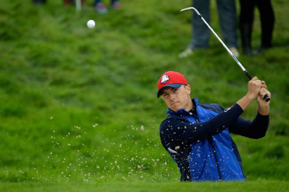 Baptism by fire for all 3 US Ryder Cup rookies, including Patrick Reed _lowres