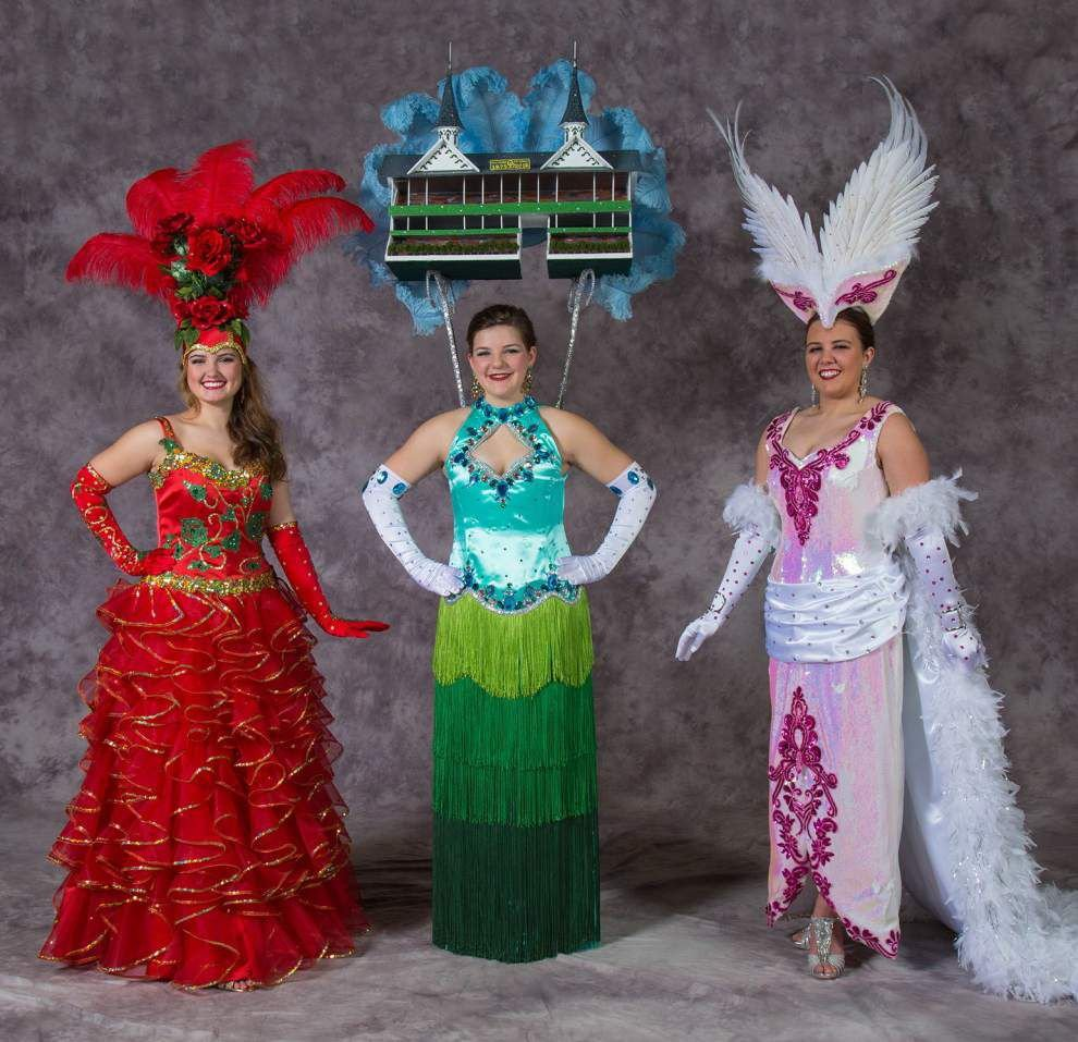 Krewe of Iduna makes 'Run for the Roses' _lowres