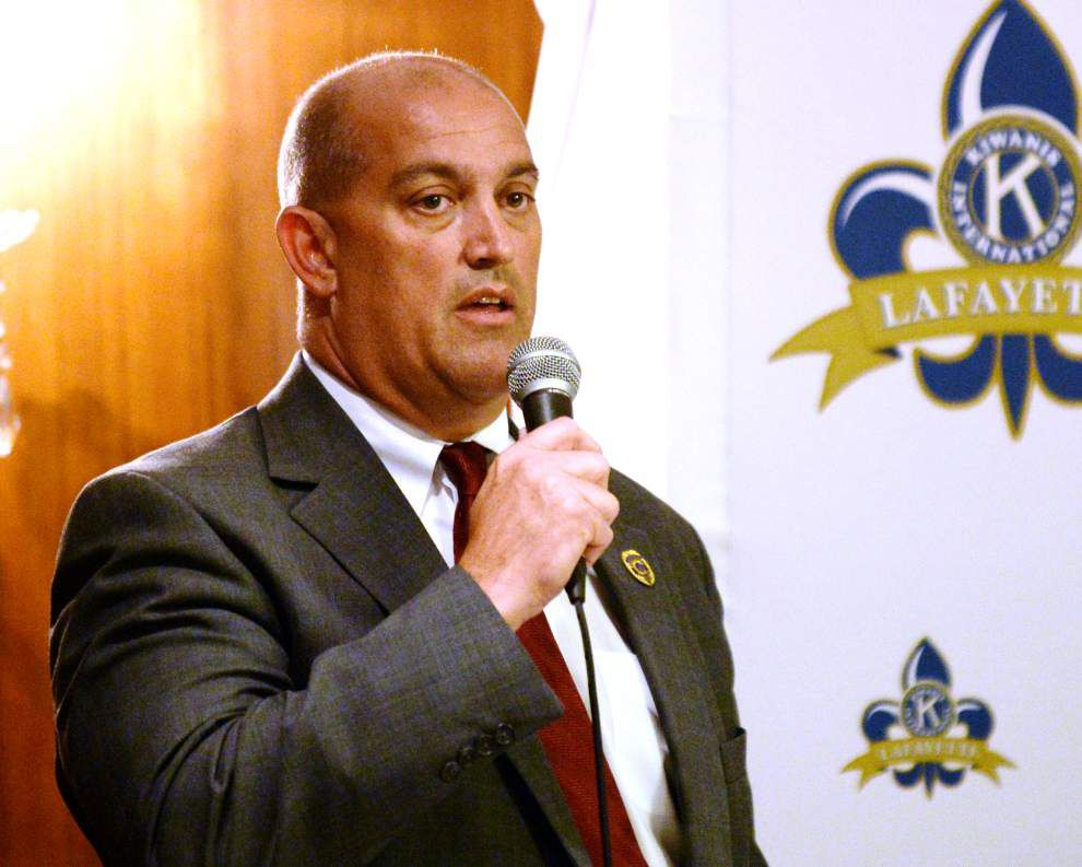 Lafayette Sheriff candidates talk the future of the office at forum _lowres