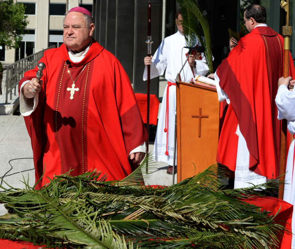 Bishop Robert Muench to meet Pope Francis next week, says he'll convey message from Baton Rouge Catholics _lowres