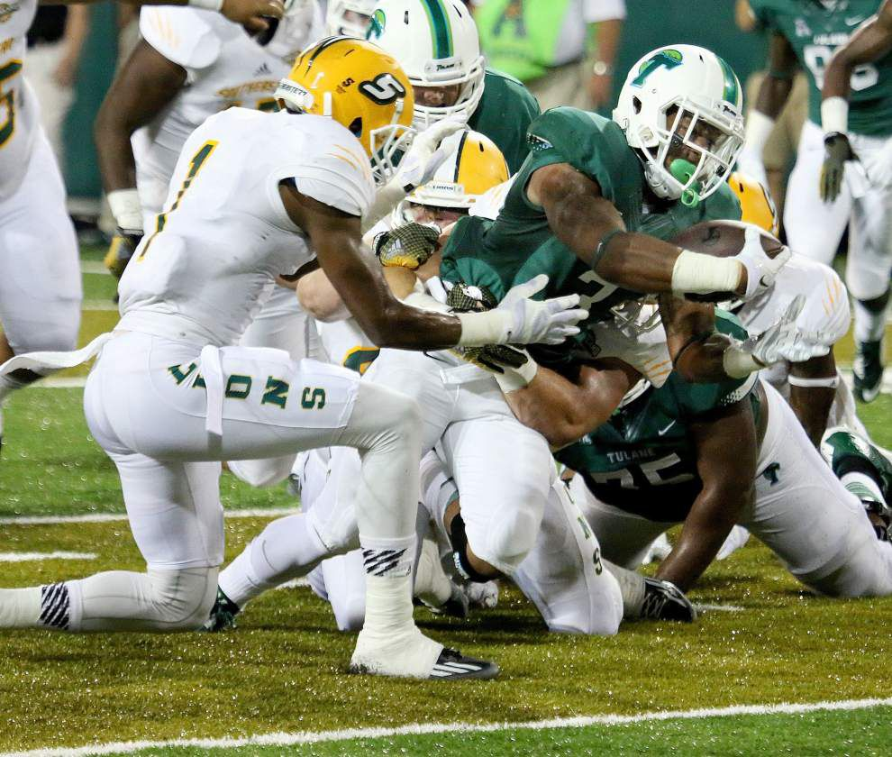 Tulane 35, Southeastern Louisiana 20: Three-and-out _lowres