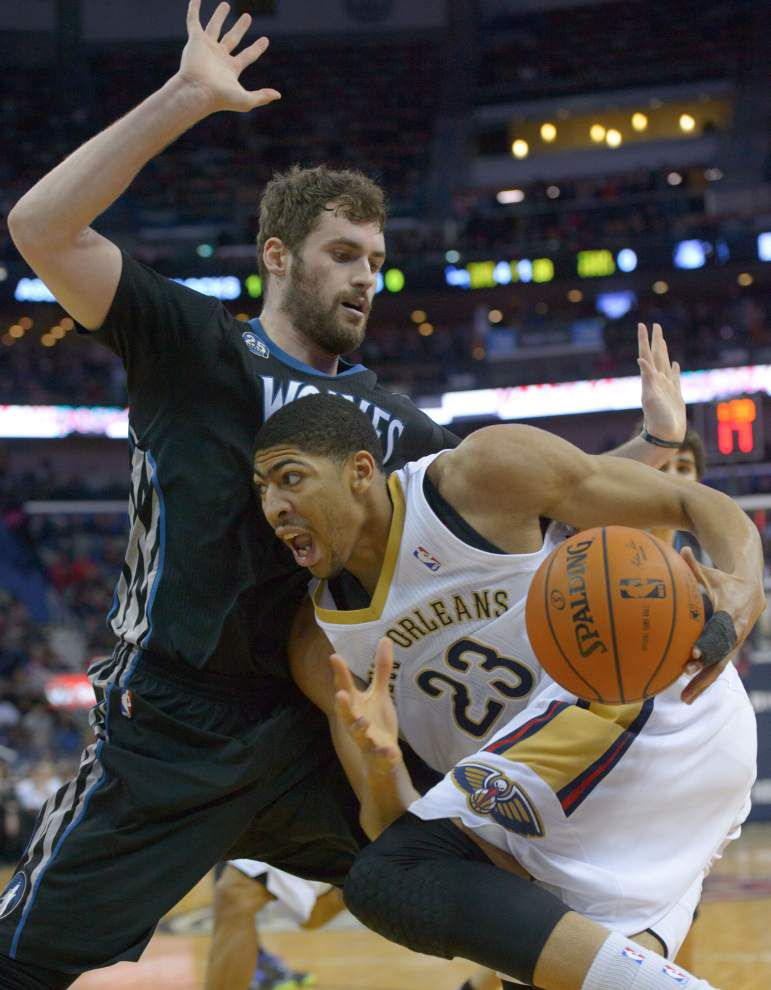 AP sources: Wolves open to idea of trading Kevin Love _lowres