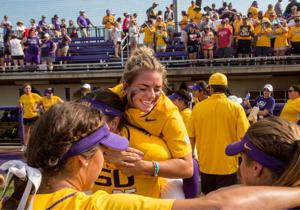 Radical differences bind together LSU softball's pitching duo