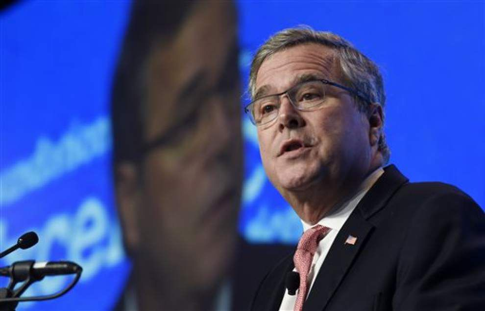 Edging closer to 2016 bid, Republican Jeb Bush forms new PAC _lowres