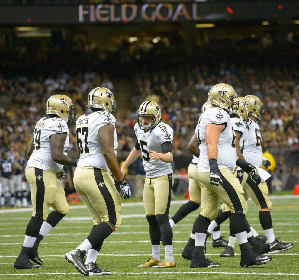 After two preseason games, still movement to be made at bottom of Saints roster _lowres