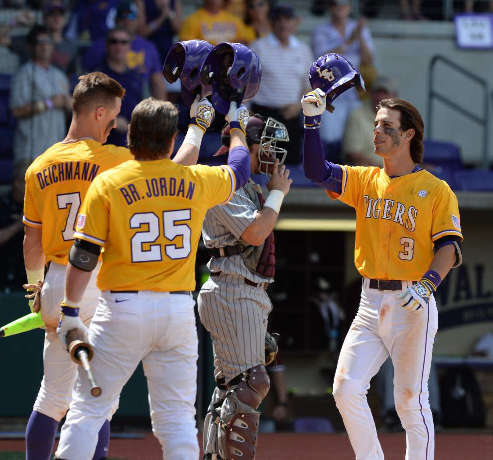 'Always felt we had it in us': LSU baseball team to host regional at Alex Box Stadium for a fifth straight season _lowres