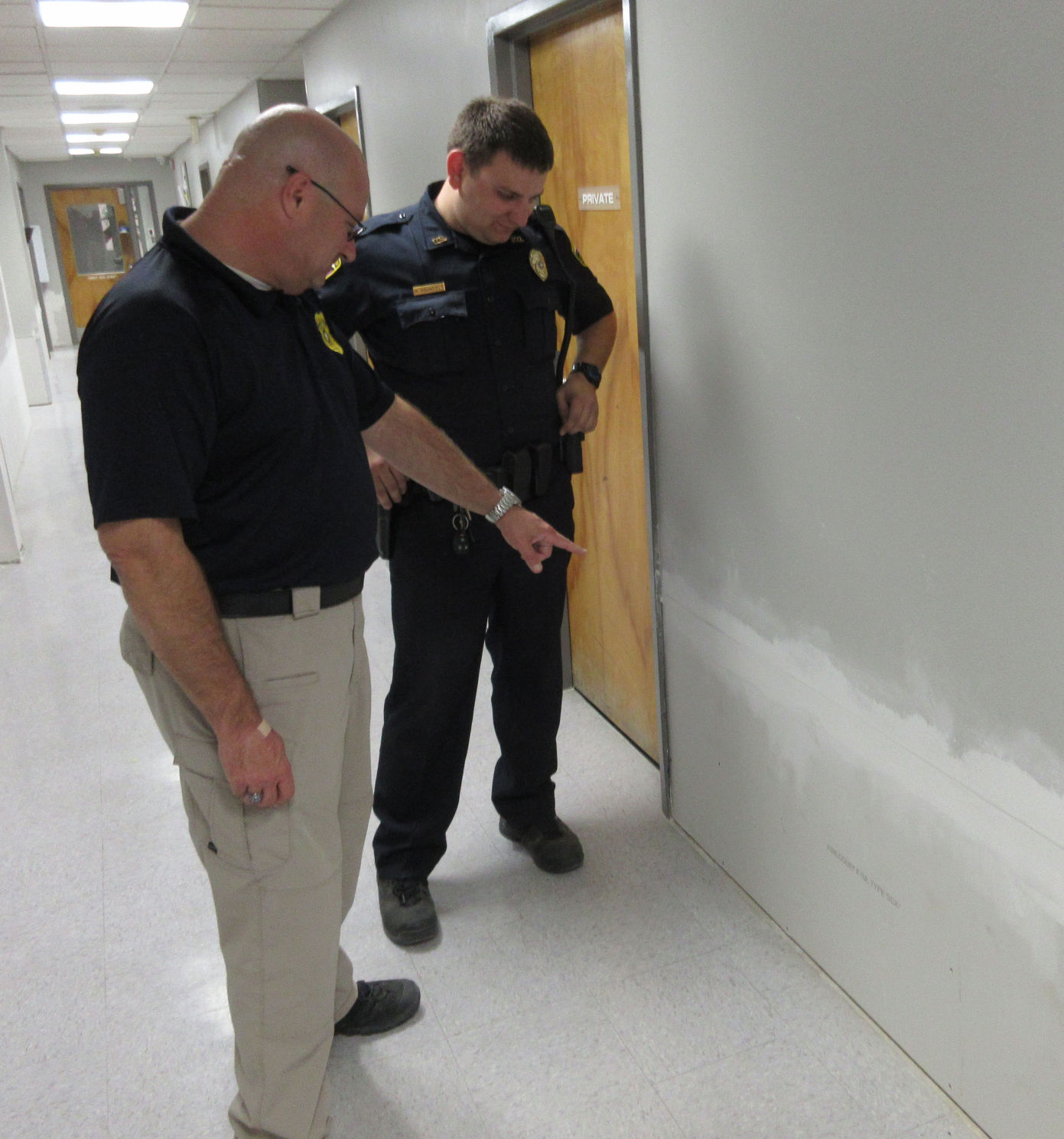 Denham Springs Police Station Repairs Close To Complete After Flood Damage