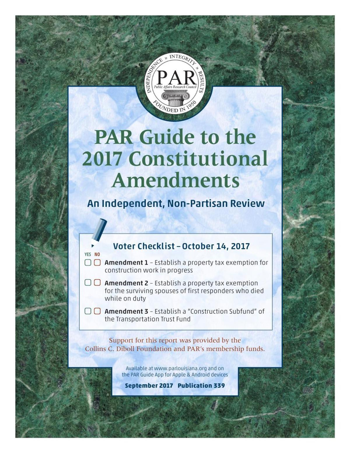 PAR Guide to the 2017 Constitutional Amendments