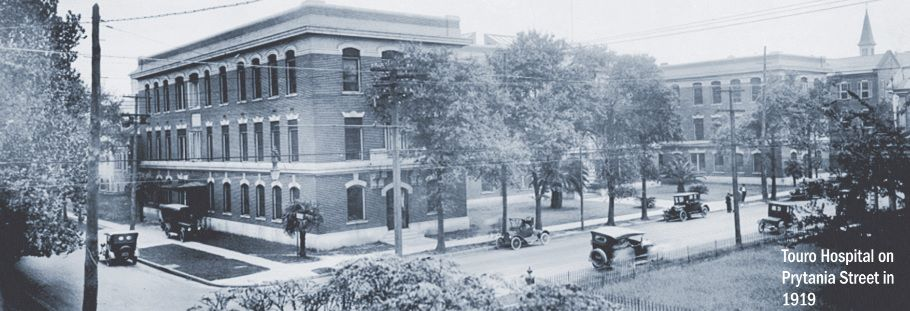 Touro Hospital in 1919