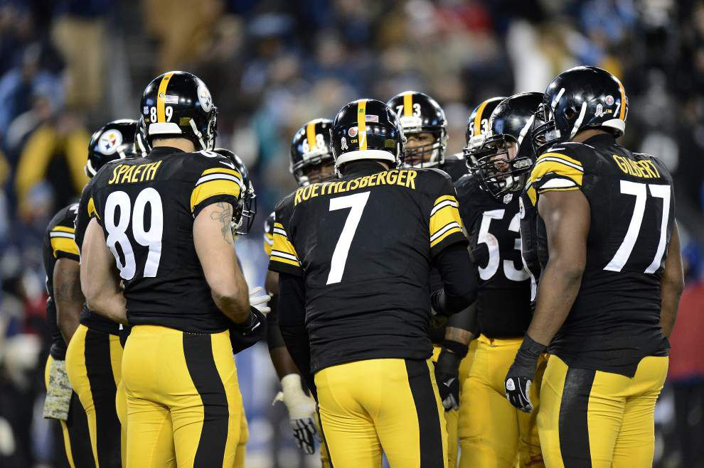 Video: Rested Ben Roethlisberger and the Pittsburgh Steelers will be a tough foe for the Saints on Sunday _lowres