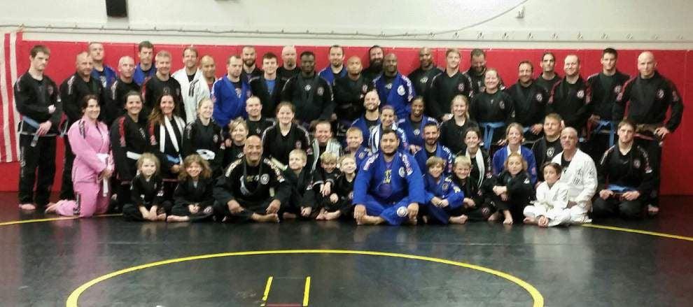 Jiu Jitsu instructor heads seminar in Zachary _lowres