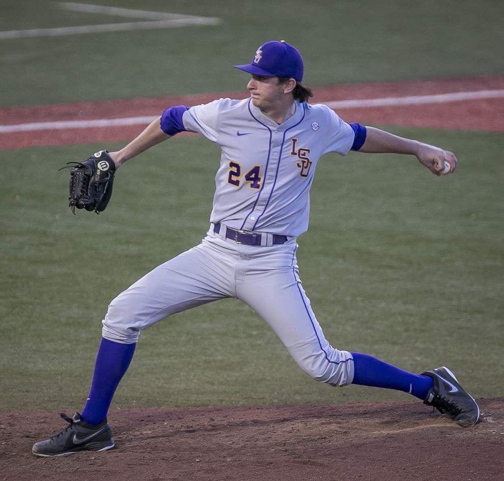 LSU baseball pregame: McNeese State at LSU _lowres