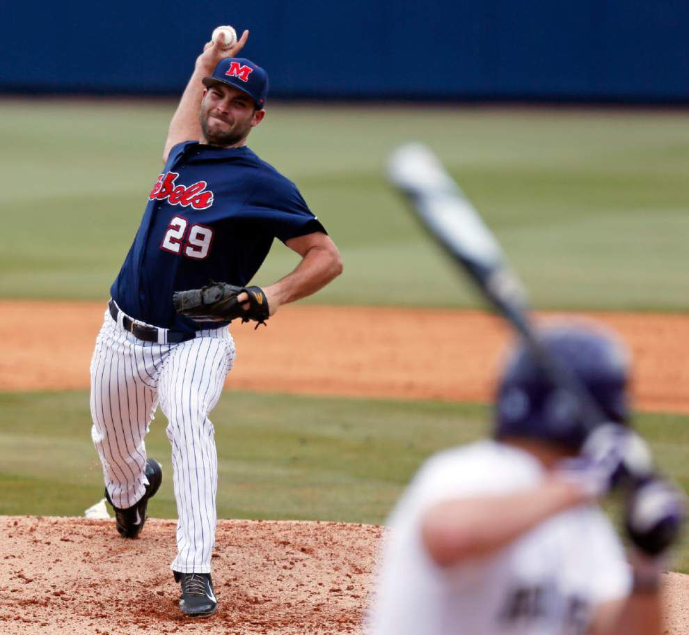 Ole Miss' Sam Smith relishes chance to be near Lake Charles again _lowres