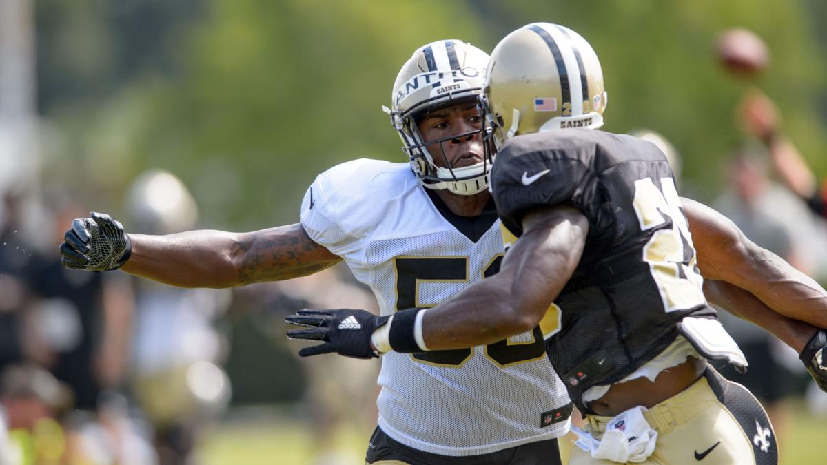 Updates from Saints' practice with Texans, 9:30 a.m., leading up to Saturday game
