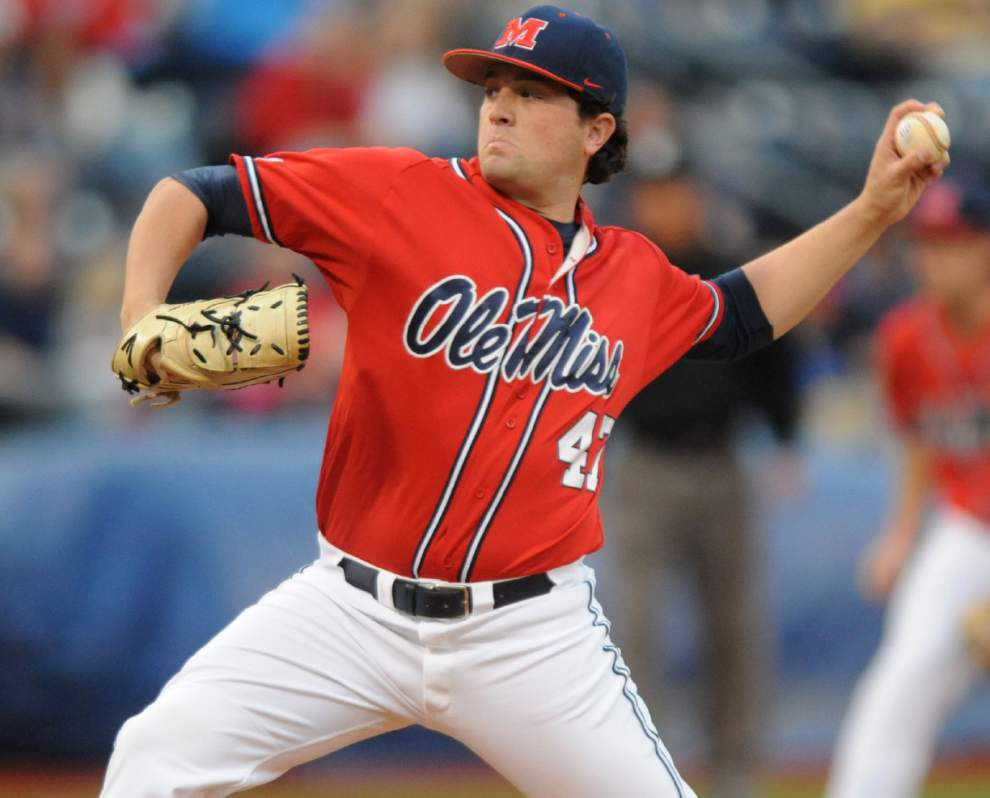 Lafayette super regional: Sunday's pitching matchup _lowres
