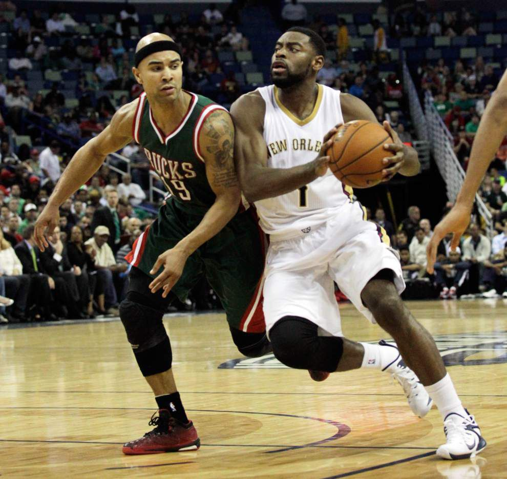 Lewis: Tough as it gets, Pelicans' Tyreke Evans 'does so much for this team' _lowres