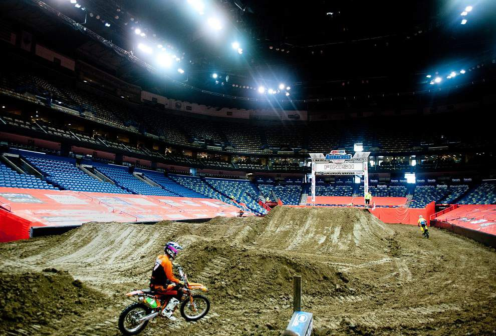 Arenacross comes to Smoothie King Center _lowres