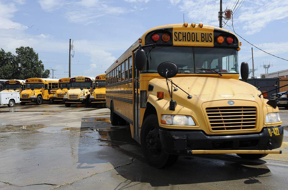 Caution urged as schools reopen in Lafayette Parish _lowres