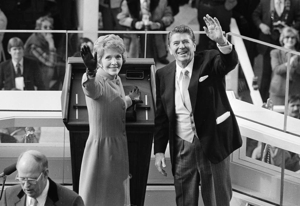 Former first lady Nancy Reagan, fierce protector of Ronald Reagan, dies of heart failure at 94 _lowres