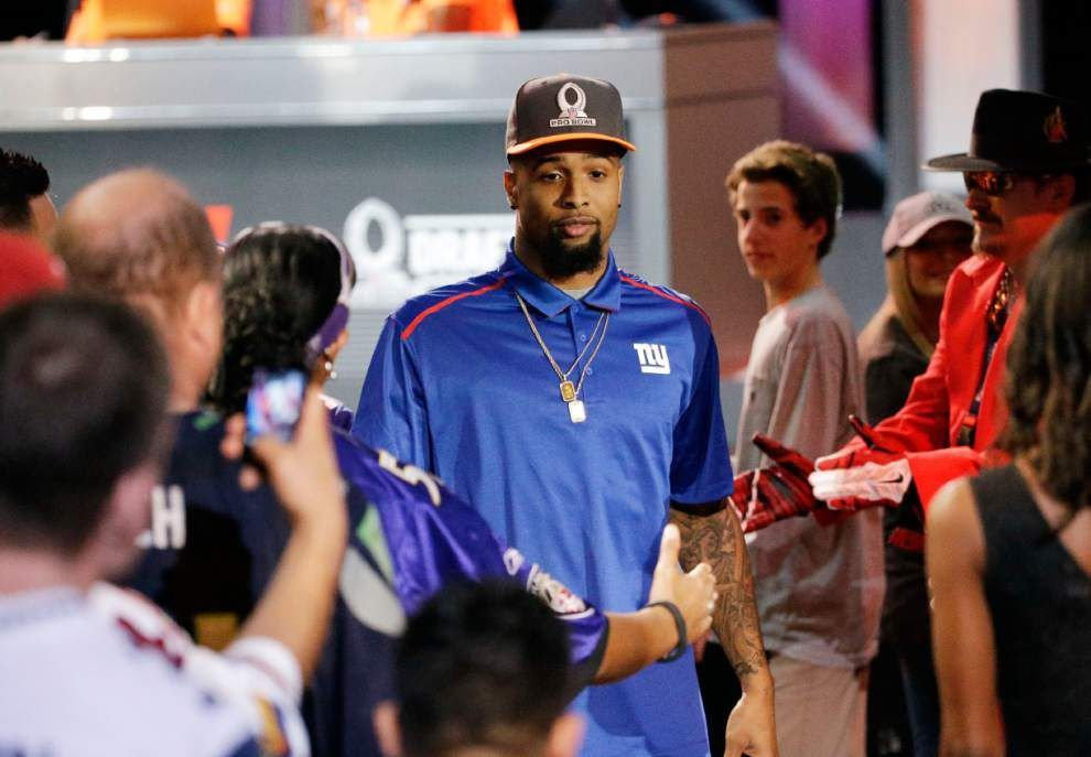 Even in the Pro Bowl, it's safe to expect the spectacular from Odell Beckham Jr. _lowres