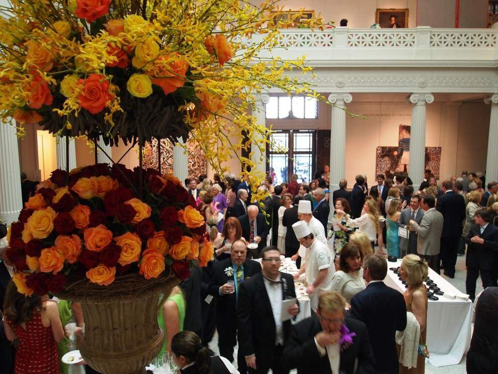 Art in Bloom Patron party