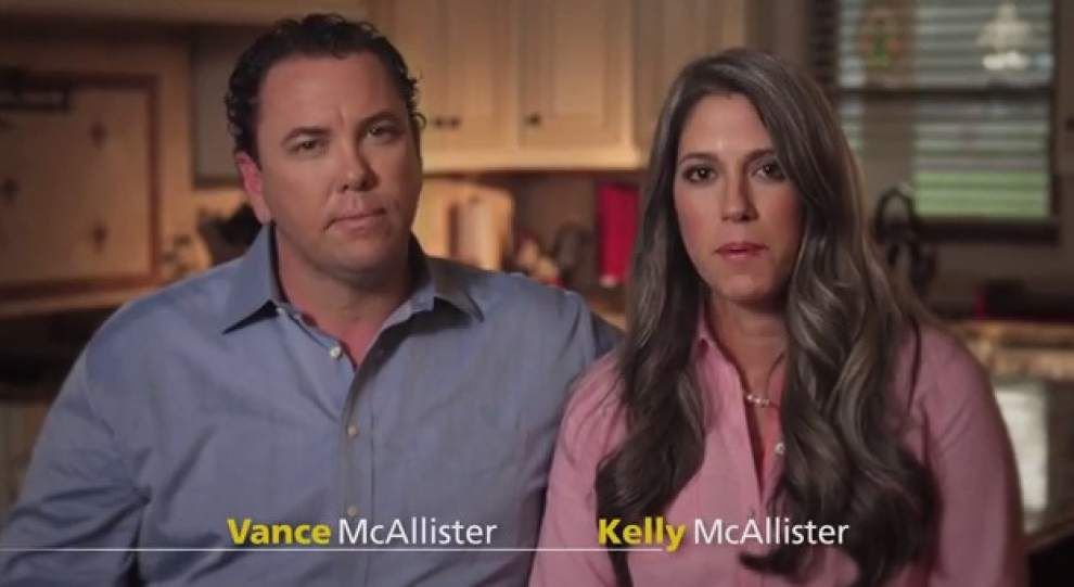 Kelly McAllister stands by 'kissing congressman' _lowres