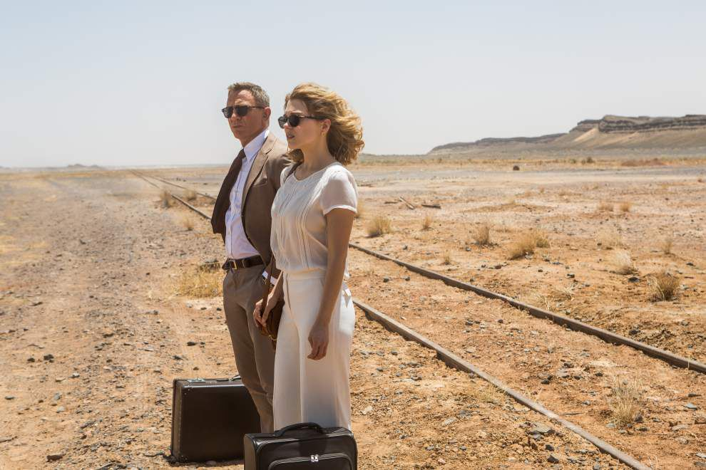 'Spectre' digs deep into Bond well _lowres