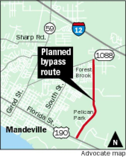 Mandeville moves closer to putting up money for bypass road _lowres