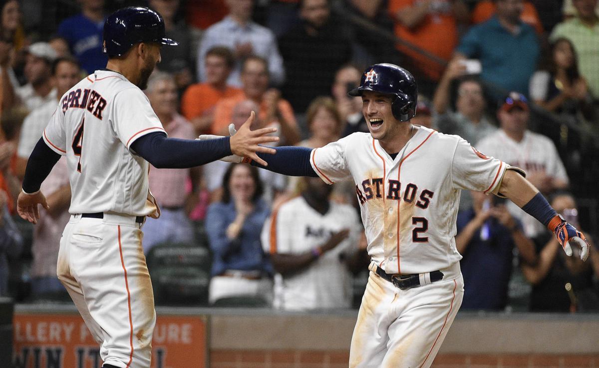 APTOPIX Blue Jays Astros Baseball