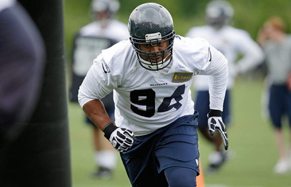 Saints sign former Seahawks defensive lineman Kevin Williams _lowres