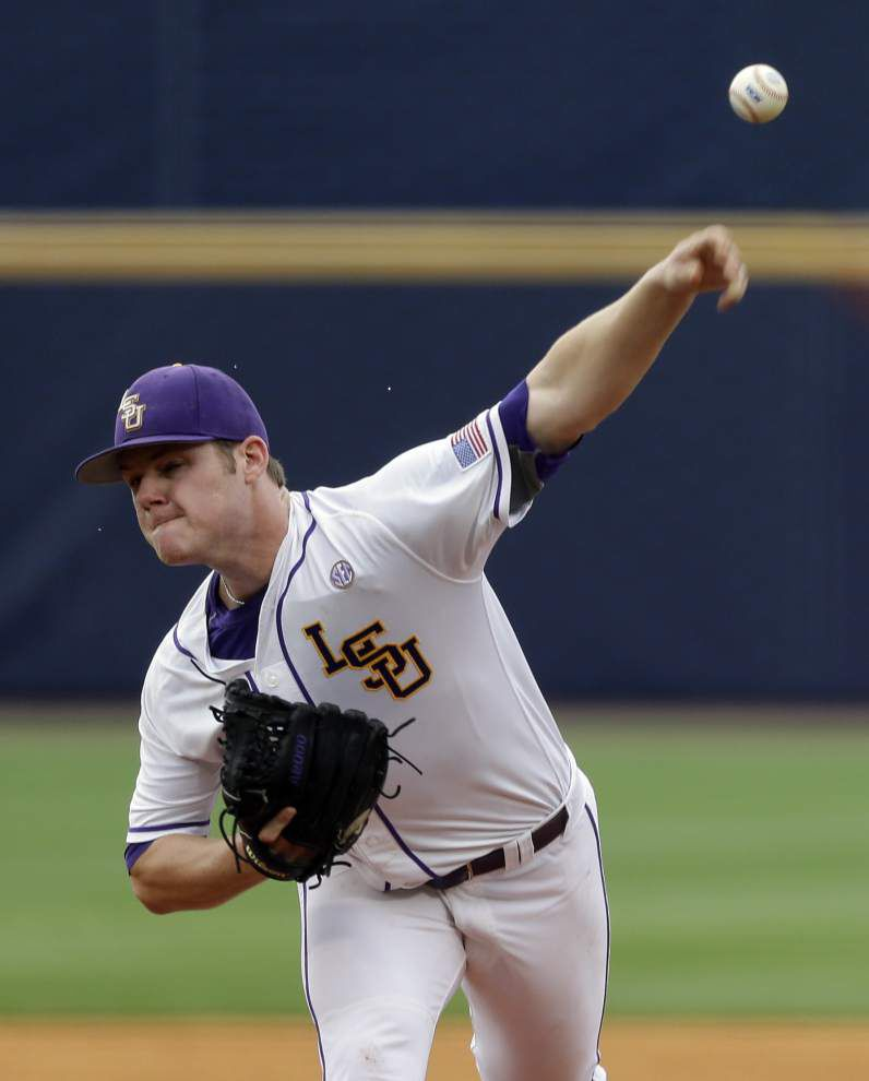 Super Regional Game 2: LSU's Jared Poche' tapped as starter, while Gunner Leger will be hurling for the Ragin' Cajuns _lowres