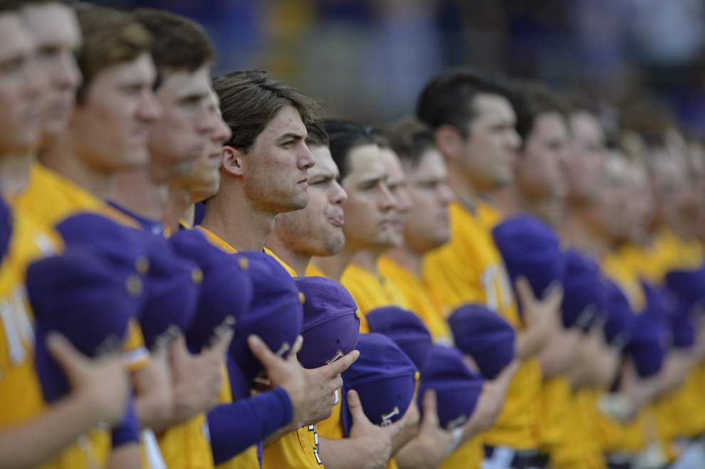 Check out four heroes from LSU's nail-biting extra-inning win against Mississippi State _lowres