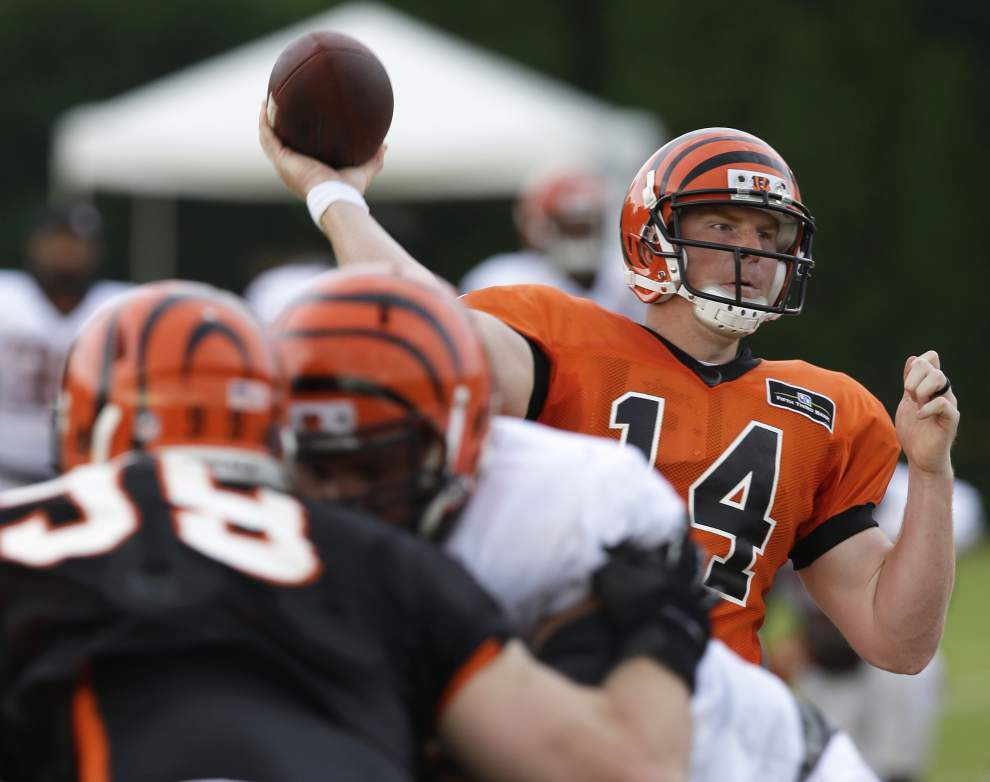 NFL notes: Bengals and Andy Dalton agree, reportedly for $115 million _lowres