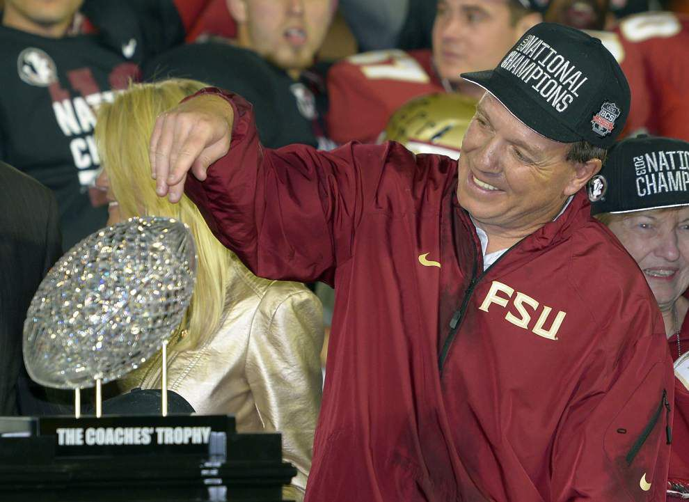 Reports: Jimbo Fisher informs Florida State president, others he intends to remain with Seminoles _lowres