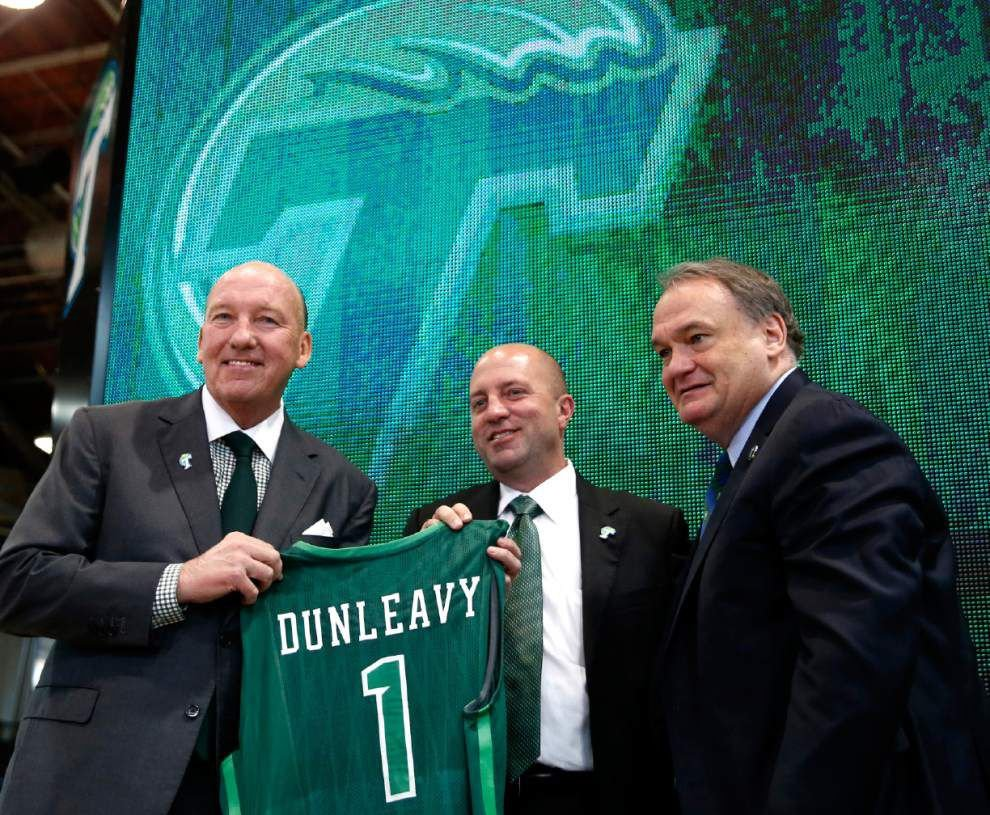 New basketball coach Mike Dunleavy says he expects to win big at Tulane _lowres