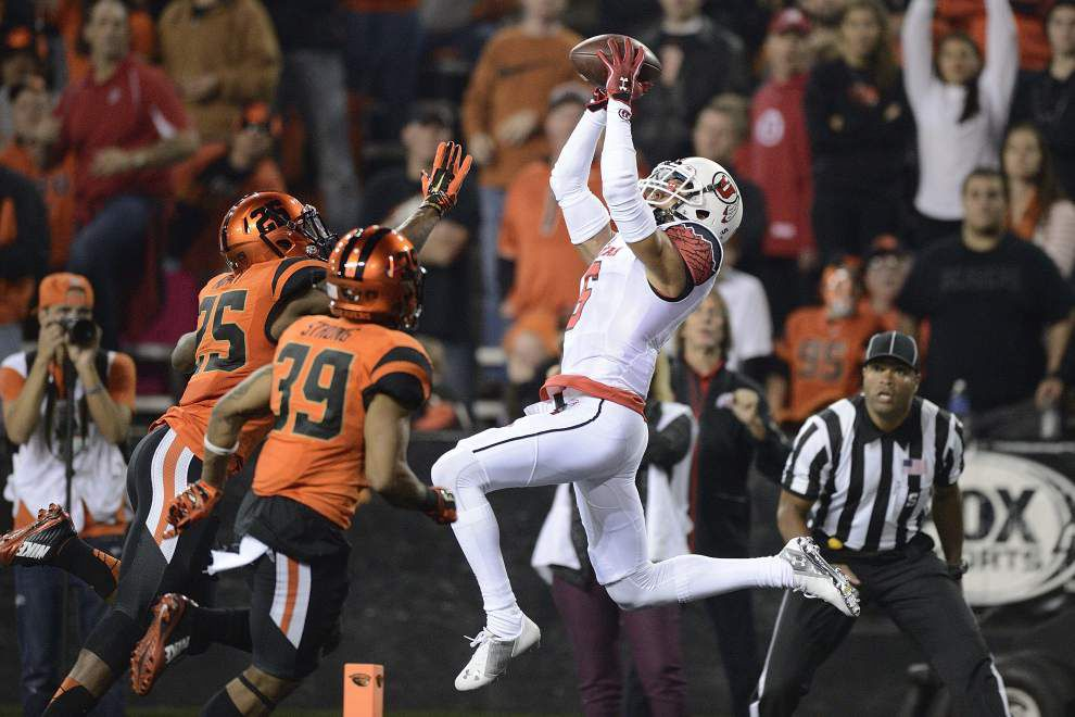 Utah wide receiver Dres Anderson out for season; Karlos Williams still subject to Florida State inquiry _lowres
