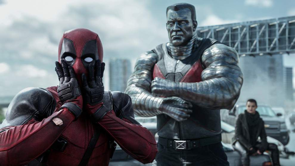 Review: 'Deadpool' suffers from juvenile humor _lowres