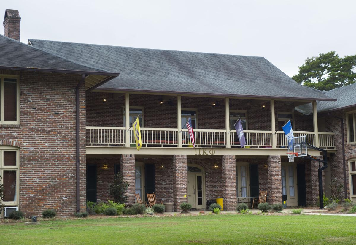 How many LSU fraternities, sororities are either suspended or kicked