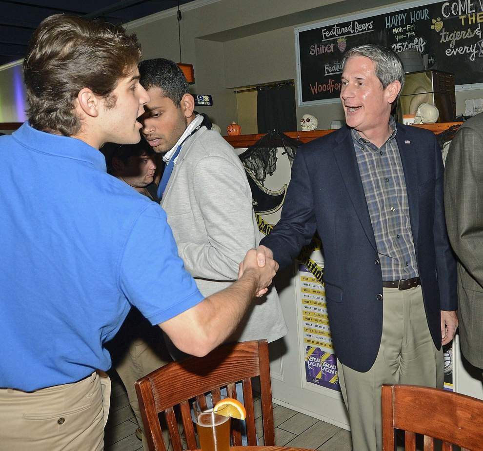 David Vitter, John Bel Edwards tout endorsements in final stretch of governor's race _lowres