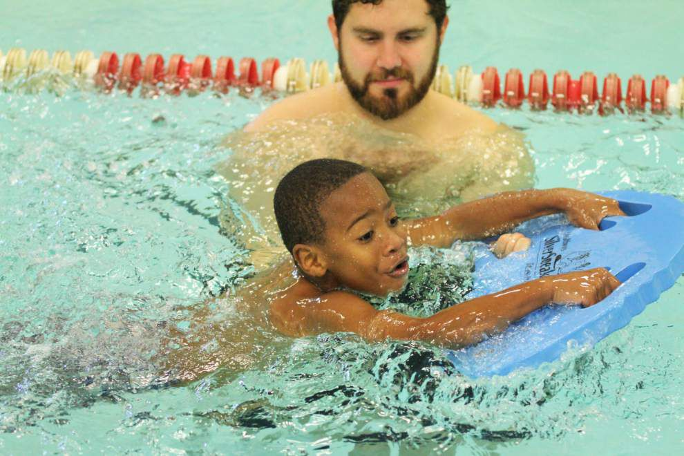 YMCA takes program to the pool _lowres