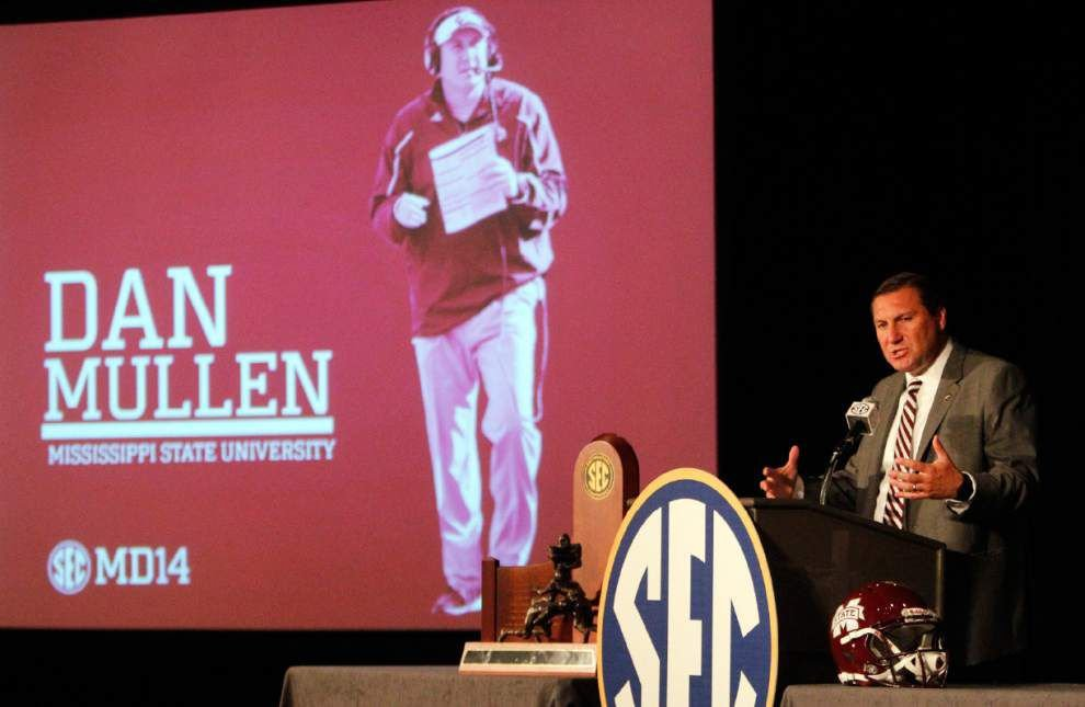 Mullen says SEC football compares to European soccer because of passionate fans _lowres