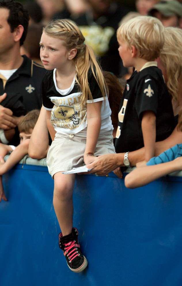 Photos: Saints practice at Mandeville High _lowres
