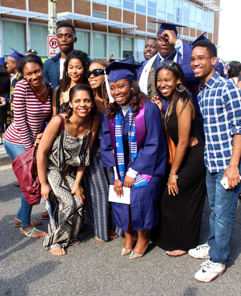 Ten years after Katrina, some students have unexpected success because they're 'determined for greatness' _lowres
