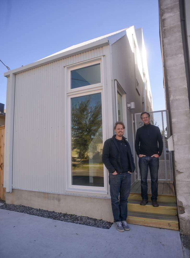 Could you live in a 950-square-foot home? Irish Channel house adds to city's collection of tiny houses _lowres
